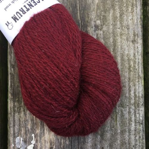 Ullcentrum 2ply Solid - Burgundy
